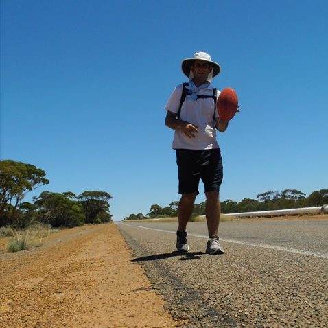 Photo of matt near boorabin memorial rest area